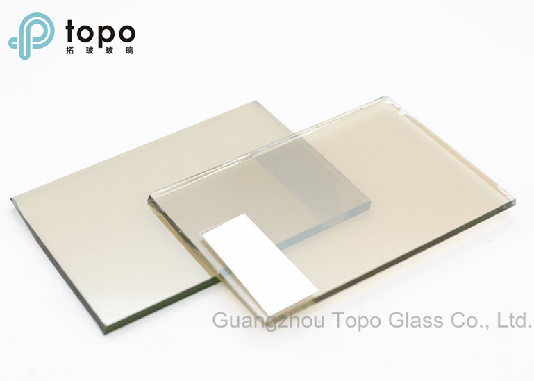 Tinted de plata recubierto Float Reflective Glass